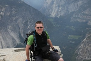 Tim on top of Half Dome