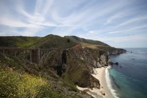 Bixby Bridge on the Big Sur coast