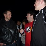 Scott Forstall with Luke and me