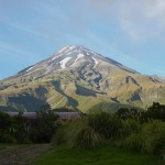 Mt Taranaki from the North Egmont Visitor Centre
